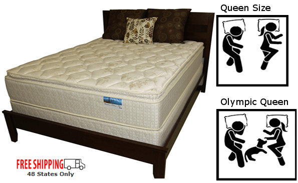 Olympic Queen Mattresses 66x80 Expanded Queen Custom Size