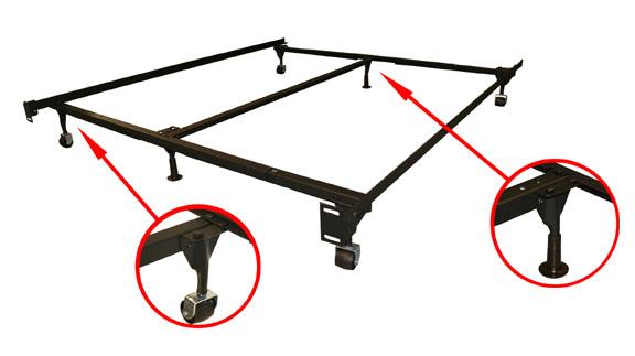 how to fix split on headboard