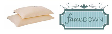 Faux Down Pillow