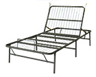 Heavy duty metal bed frame universal size for How to raise your bed frame