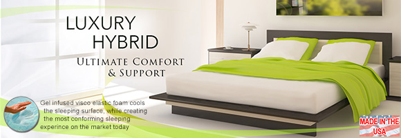 Luxury Hybrid Gel Mattresses
