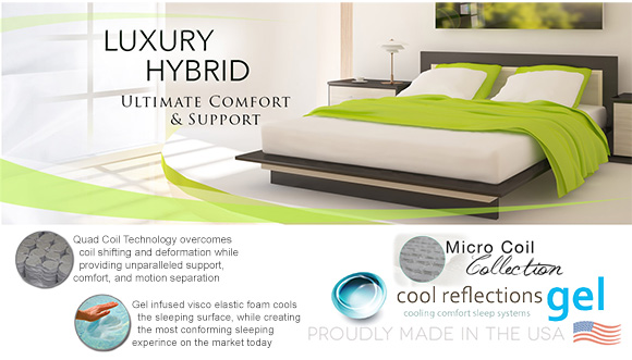 Luxury Hybrid Mattresses