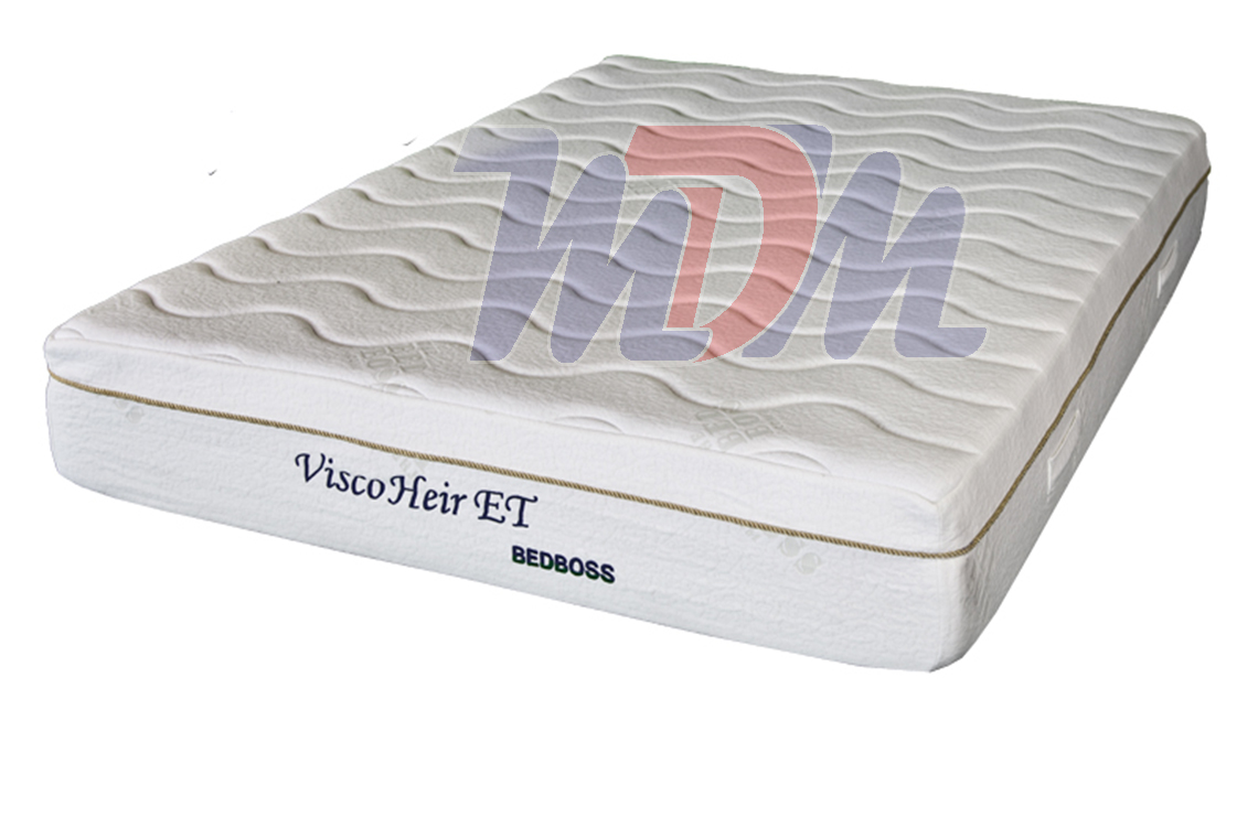 Heir Et Bed Boss Memory Foam Eurotop Mattress