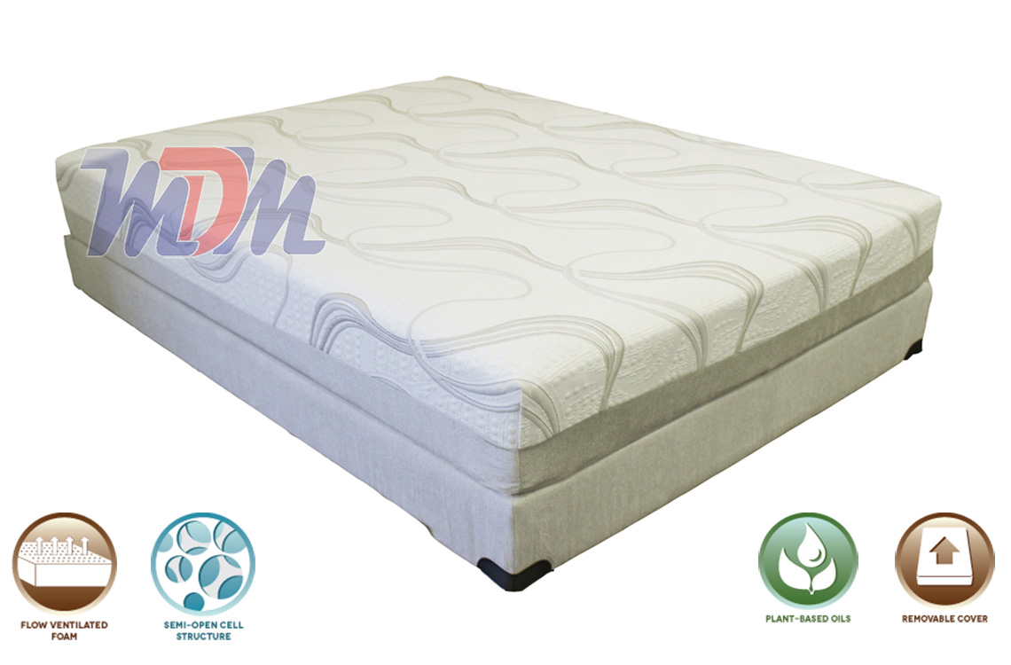 Gel lux 10 affordable natural gel memory foam mattress Discount foam mattress