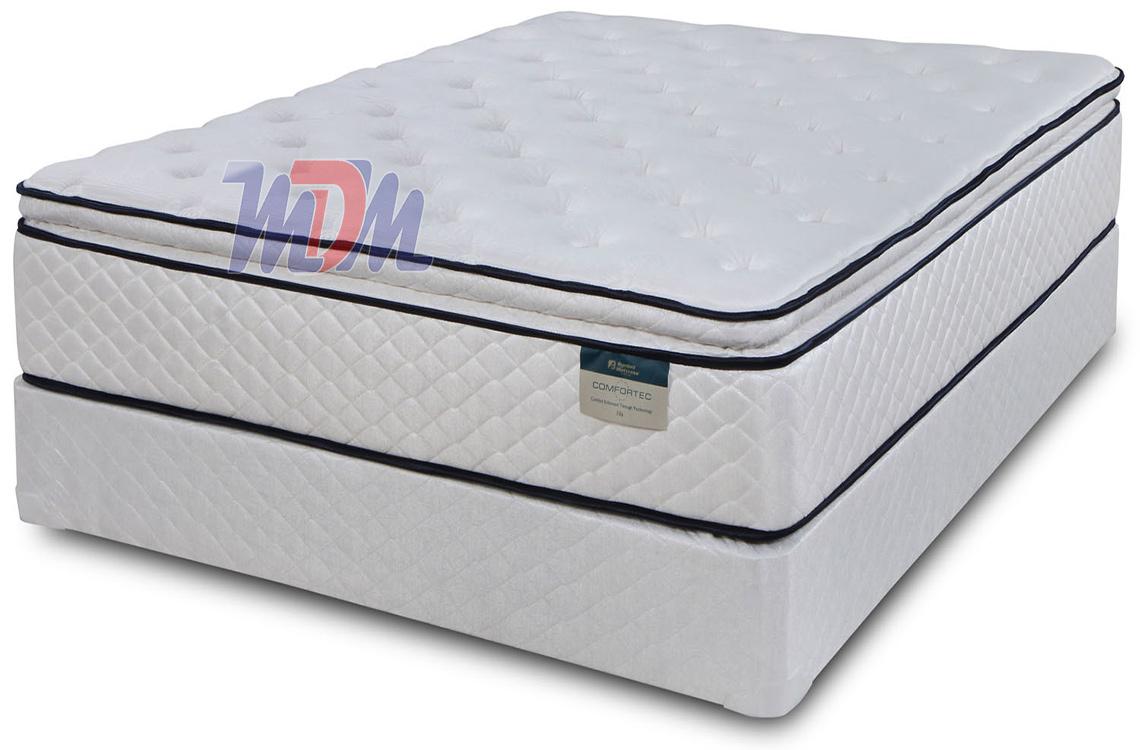 Scarlett pillow top a pocket coil mattress by symbol for Best mattress