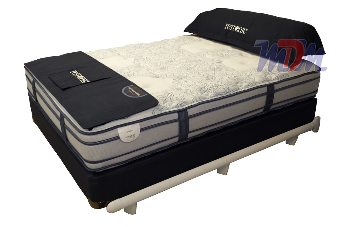 comfort care sided pocket coil medium daley double hybrid flippable mattress top mattresses pillow luxury restonic