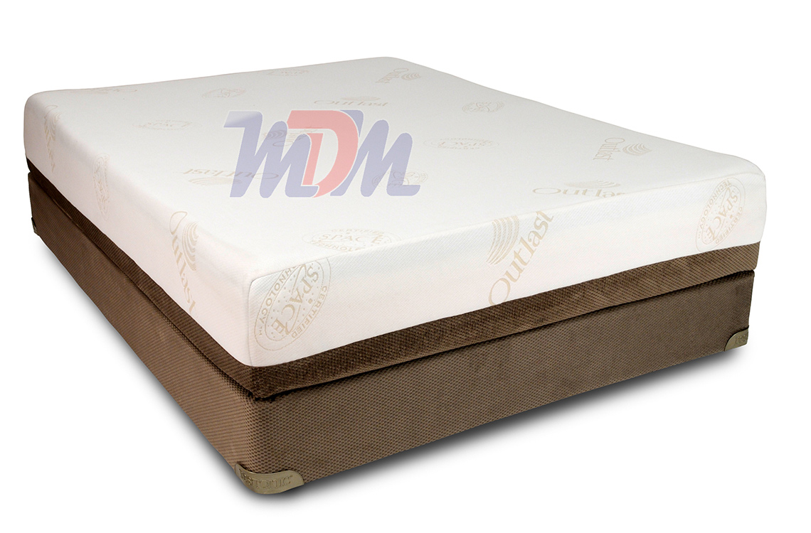 Gemini gel infused w latex affordable luxury memory foam mattress Discount foam mattress