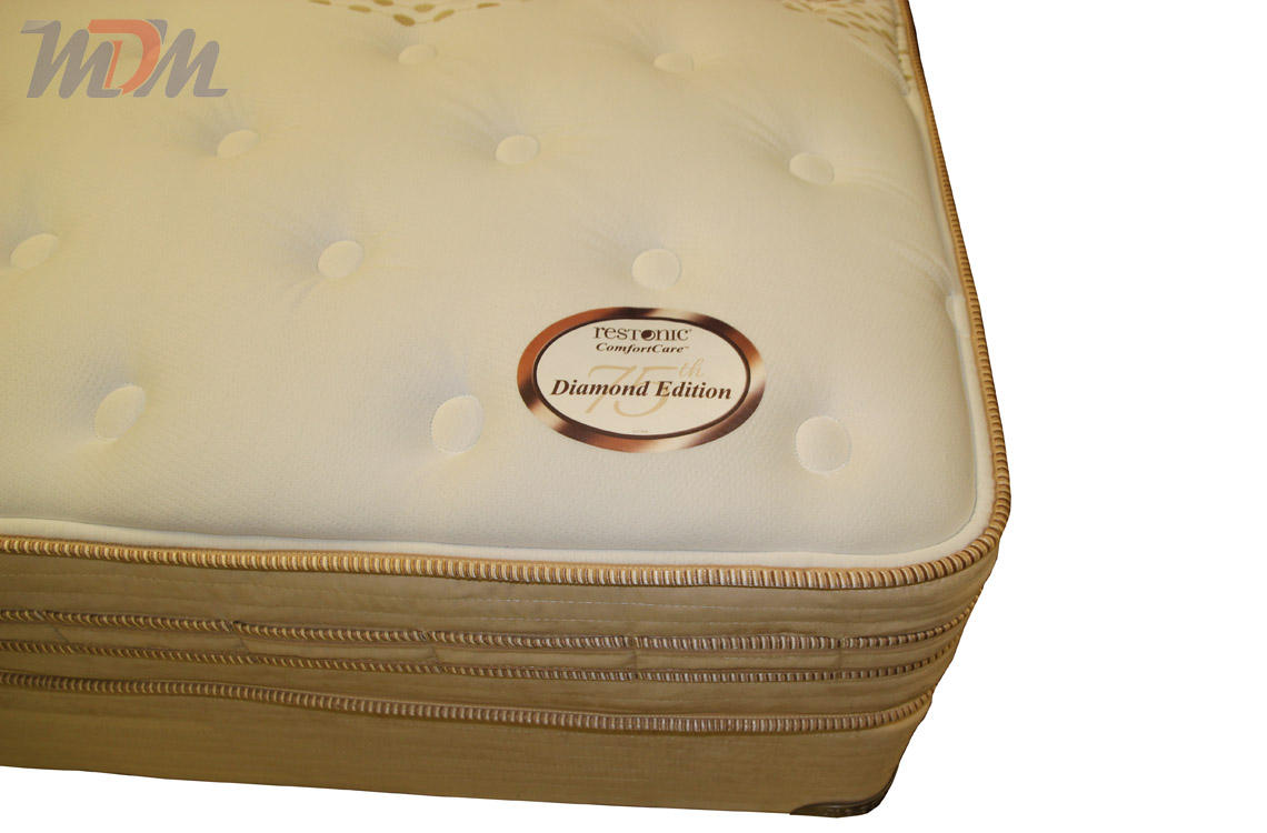 Restonic Mattress That Is Featuring New Cool Gel Infused