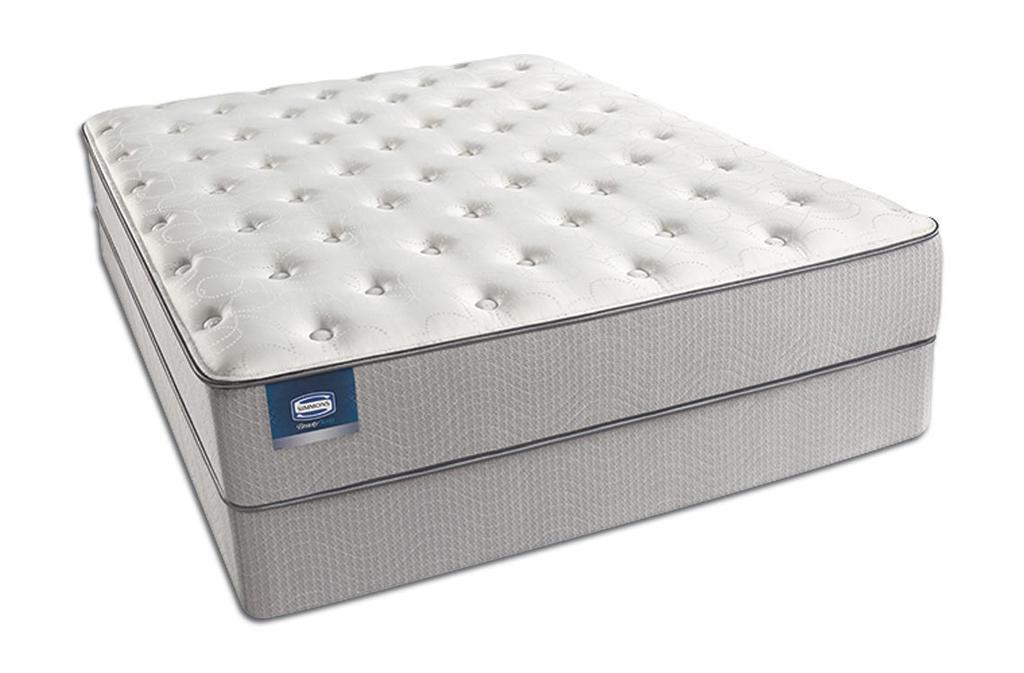 Simmons Beauty Sleep Top Plush Prado Pocket Coil Marshall Mattress Soft Affordable