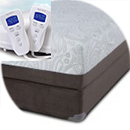 multi chamber adjustable air bed like sleep number by symbol mattress comfort 4u