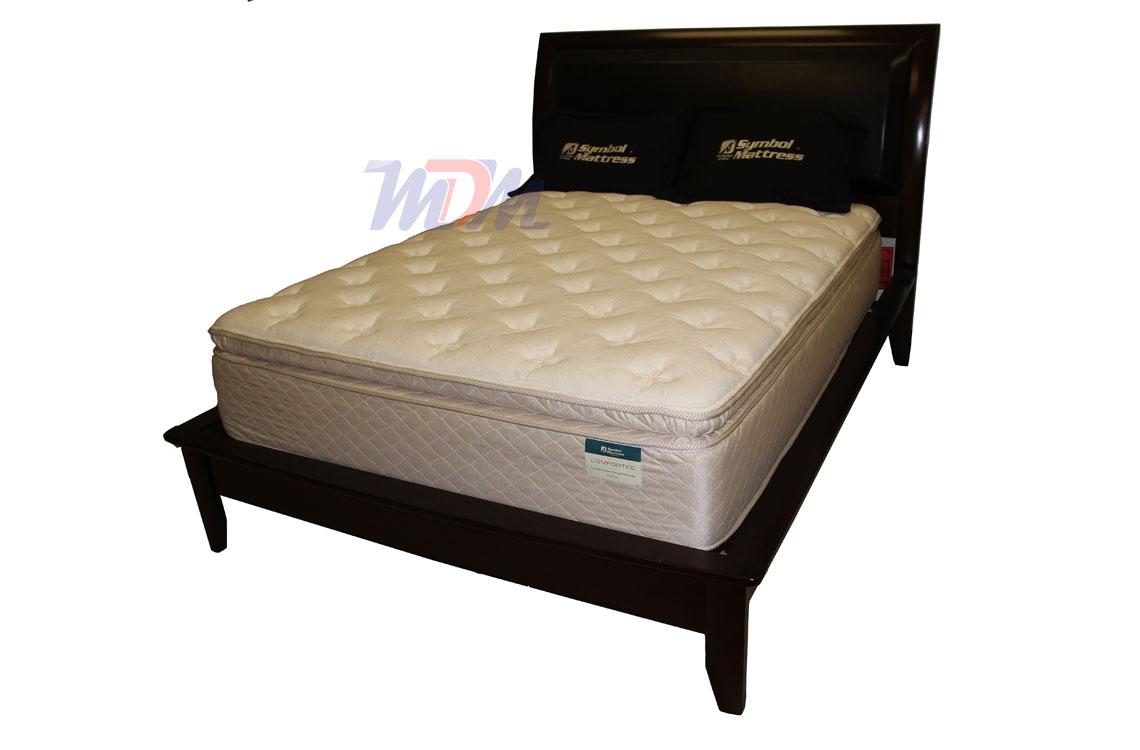 Stafford visco pillow top mattress a better pillowtop mattress foam encased superlastic coils biocorpaavc Choice Image