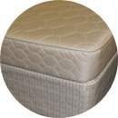 6 inch poly mattress and box foundation