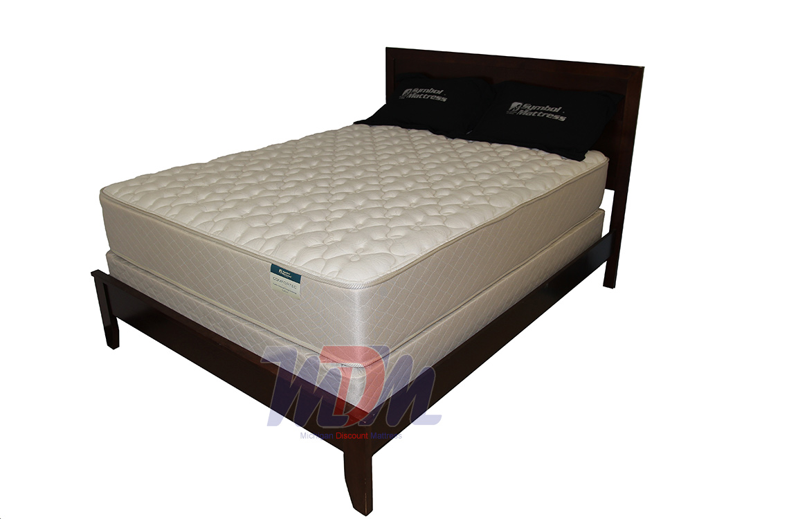 Organic Cotton Mattress Pad Queen Stafford Firm Organic Gel Infused Two-Sided