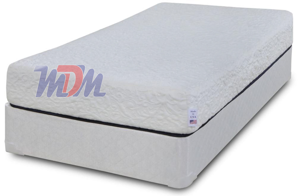 48 X 74 Freedom 8 Gel Memory Foam Affordable Symbol Mattress