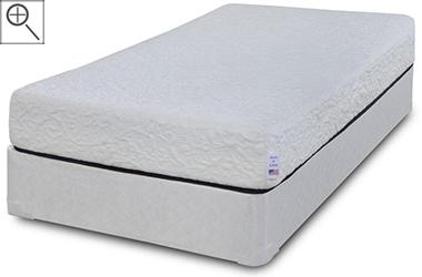 freedom 8 gel memory foam affordable symbol mattress. Black Bedroom Furniture Sets. Home Design Ideas