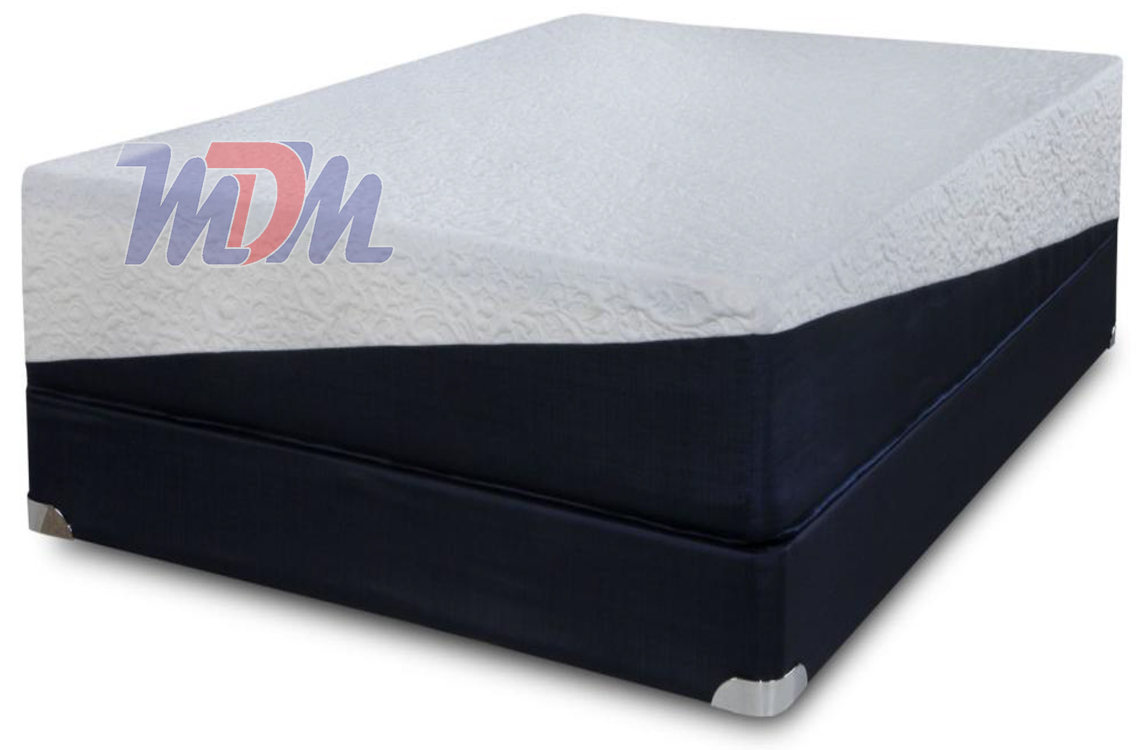 Freedom 13 With Latex Gel Infused Memory Foam Mattress With Latex