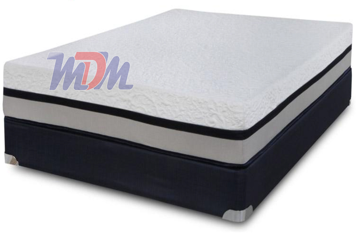 Freedom 11 Memory Foam A Plush Memory Foam Mattress By