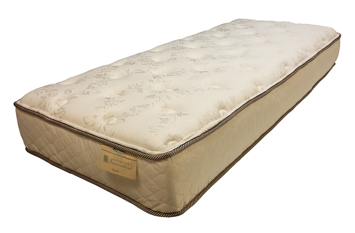Edison Plush All Foam Mattress Available In Custom Sizes
