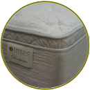 ultra soft hybrid mattress sable top