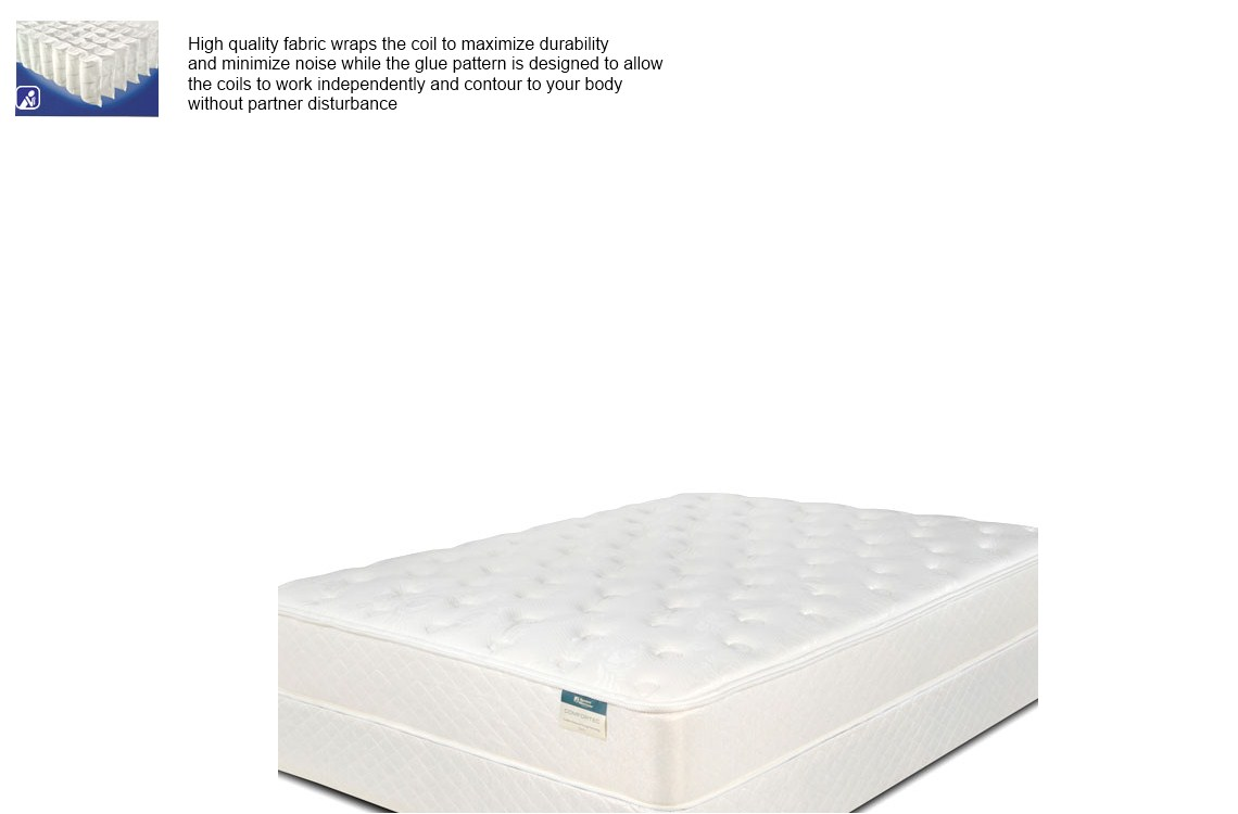 Symbol Comfortec Savoy Plush Mattress